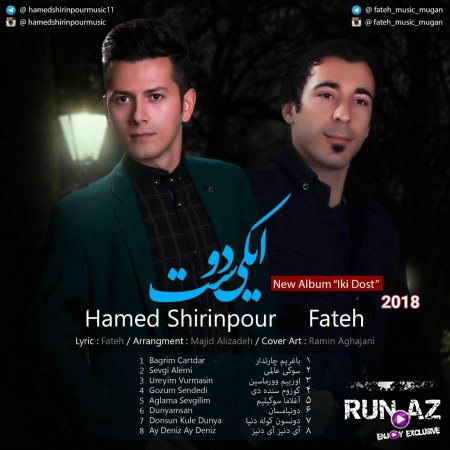 Fateh ft Hamed Shirinpour - Gozum Sendedi 2018